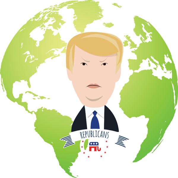 Donald Trump und die Welt